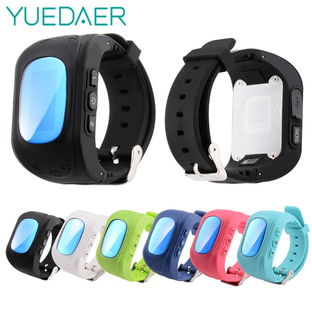 YUEDAER Q50 GPS Watch Kids Safe SOS Call Location Smartwatch support SIM Card smart baby watch q50 anti-lost in Russian Spanish