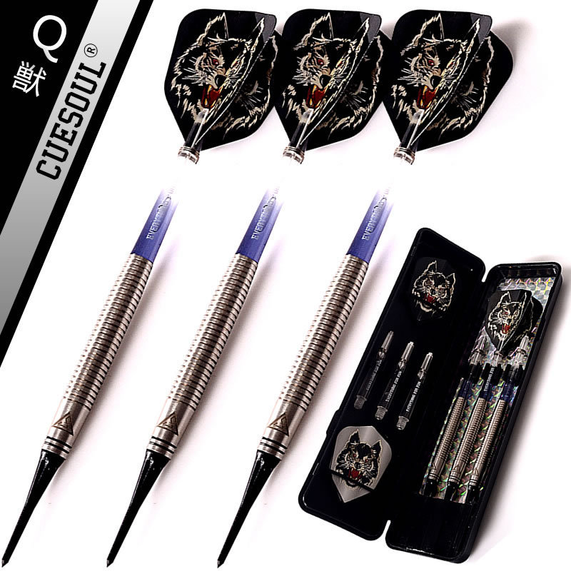 3PCS CUESOUL 18g Tungsten Darts Professional Darts Soft Tip Darts Electronic Soft Tips cuesoul professional electronic soft tip darts with 90