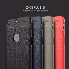 "Здесь можно купить  CACACI Oneplus 5 case cover Soft Rubber TPU back shockproof oneplus5 cover 5.5"" leather one plus5 fundas One plus 5 cases coque"