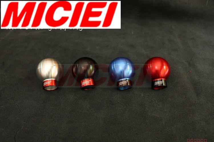 MICIEI Gear universal shift knobs for AT TOYOTA FT86/ TOYOTA GT86/ SUBARU BRZ туринг 1 10 rs4 sport 3 drift subaru brz