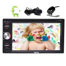 """Android6.0 6.2 """"Doble Din En El Tablero de Coches Reproductor de DVD GPS de radio Del Coche de Navegación de Apoyo WiFi/Bluetooth/USB/espejo-link + Cámara de Copia de seguridad"""