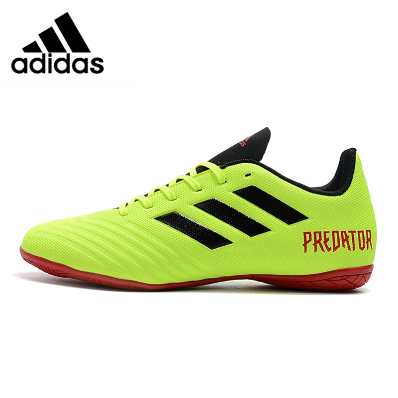 e638add2a Adidas Predator Tango 18.4 IN Falcon New Flat Bottom Men s Soccer Shoes  Green Training Football Shoes