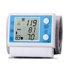 Цифровой ЖК Наручные Рычаг Кровяное Давление Пульс Верхний Монитор Пульса Метр Здоровья BP106