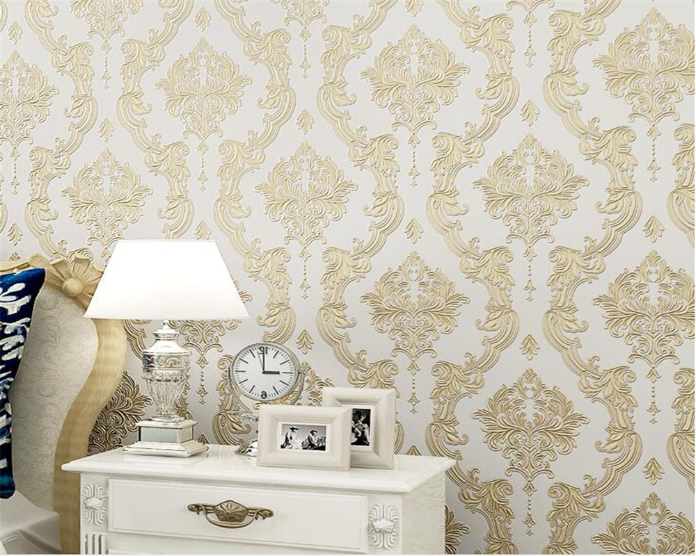 Beibehang European-style 3d wallpaper on the wall the sitting room the bedroom 3 d TV setting embossed wallpaper papel de parede the impact on section 3 d on indian pharmaceutical industry