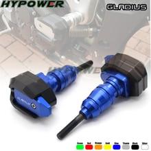 Защита от падения для мотоцикла, ползунок, обтекатель, защита от Краш, защита для SUZUKI DL 250 650 1000 V-STROM SFV GLADIUS