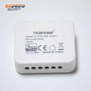 TKBHOME Z-wave Plus TZ77 insert RGB Dimmer switch Module EU868.42MHz AU921.42MHz US908.42MHz frequency