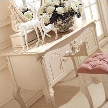 Европейский зеркальный стол современный комод для спальни французская мебель белый французский туалетный столик p10235