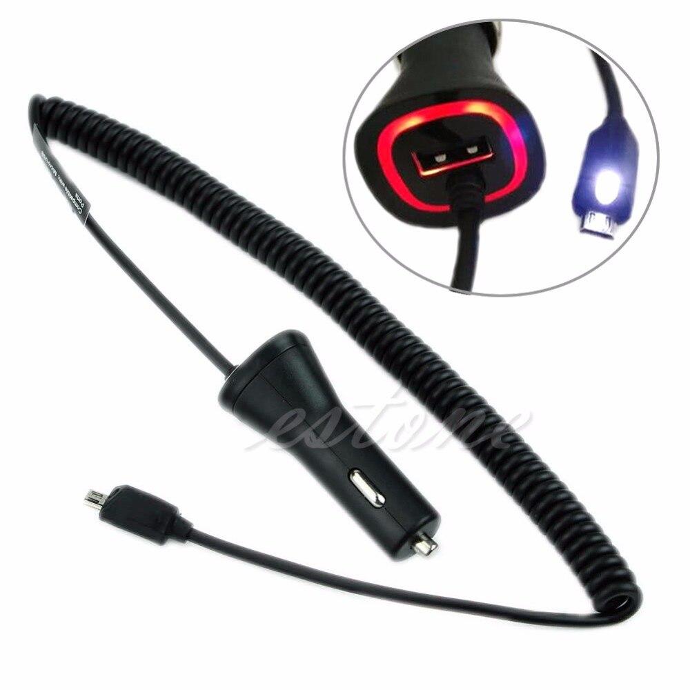 1 шт. OEM 2,1 AMP быстрого Dual Micro USB Автомобильное Зарядное устройство для <font><b>Verizon</b></font> сотовый телефон автомобиля Зарядное устройство