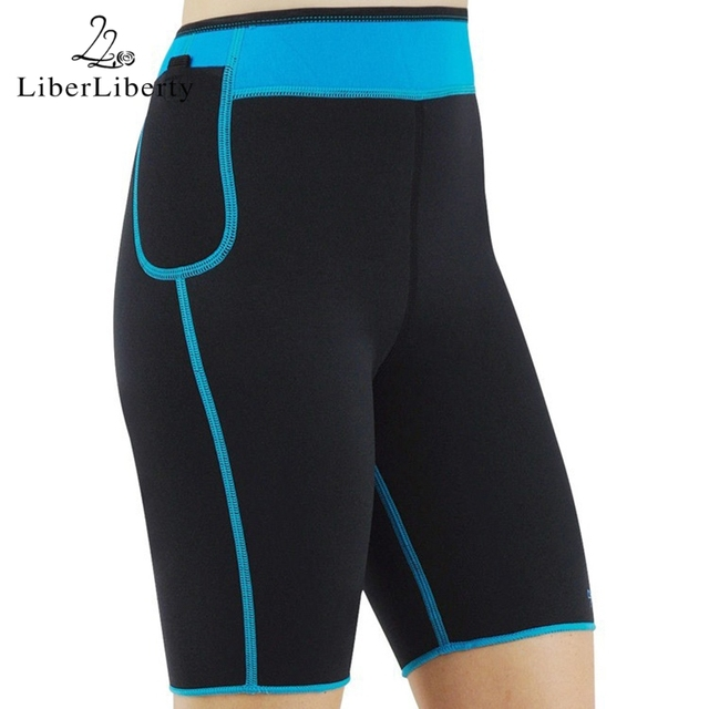 Hot Shapers Body Shaper Women Control Panties Neoprene Sweating Slimming Shorts Stretch Breeches Slim Shorts Board Shorts