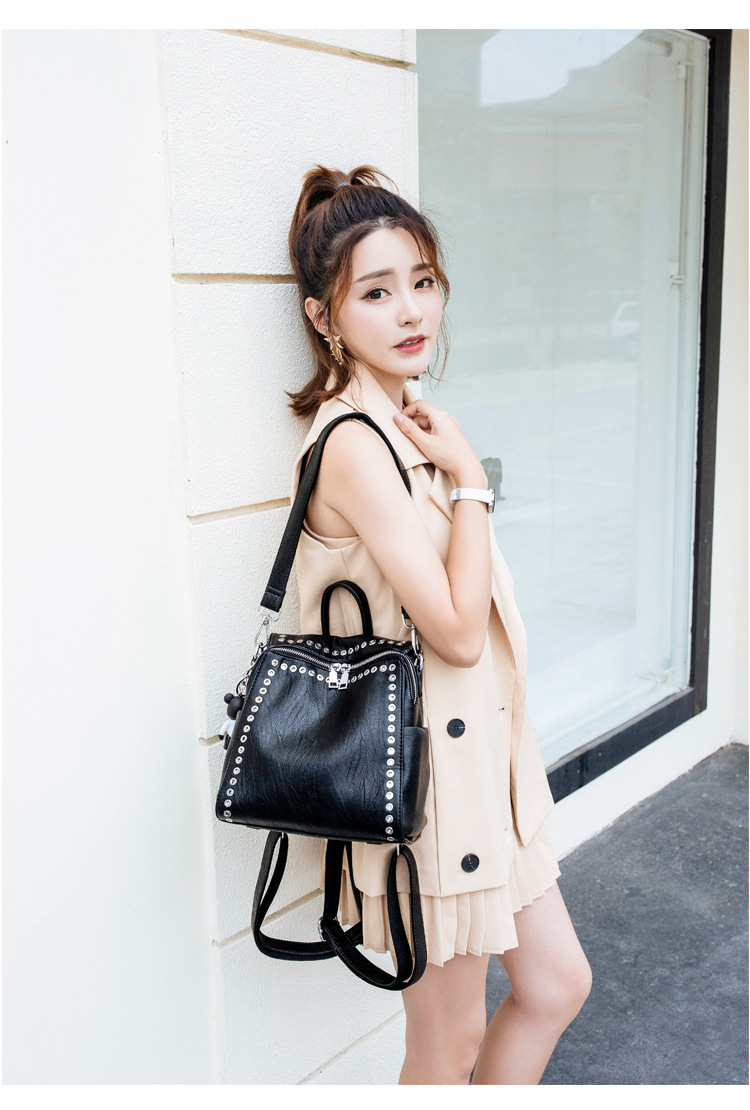 HTB1nMN.affsK1RjSszgq6yXzpXas QINRANGUIO Leather Backpack Women School Bags for Teenage Girls 2019 New Fashion Large Capacity PU Leather Black Women Backpack