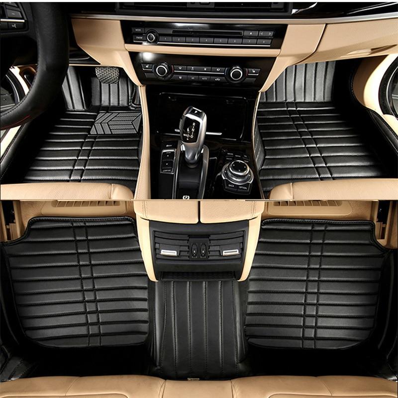 car floor mat carpet rug ground mats for Toyota Camry Corolla Highlander RAV4 Yaris L levin Crown 2018 2017 2016 2015 2014 2013