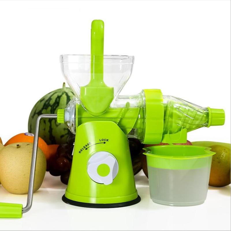Multifunction Portable DIY Manual Juicer Fresh Apple Orange wheatgrass juicer Machine Health Kitchen Tools extractor