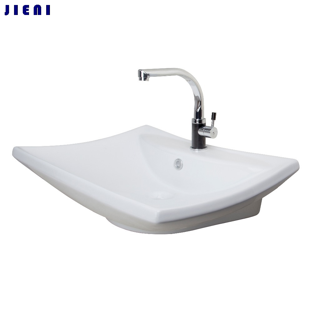 Best Deck Kitchen Swivel 360 Tap+ Bathroom Sink Torneira Cozinha White Ceramic WashBasin Chrome TD30058453 Sink Faucet Mixer Tap kitchen sink vessel faucet single hole washbasin sink mixer tap torneira da cozinha swivel spout