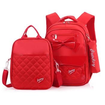 11b4aaf27819 Product Offer. Водонепроницаемый детей школьные сумки Комплект для девочек  Школьный Рюкзак Дети Ортопедические ...