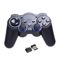 2.4G Controlador de Jogo Gamepad Joystick Sem Fio para TV Box Tablet PC GPD XD Janelas Android com Receptor RF USB Jogo controle