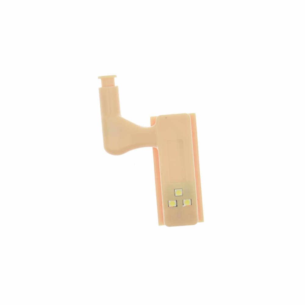 1 шт. Новый светодиодный светильник под шкаф универсальное освещение для гардероба датчик светодиодный внутренний шарнир шкаф для ламп шкаф кухонный шкафчик освещение