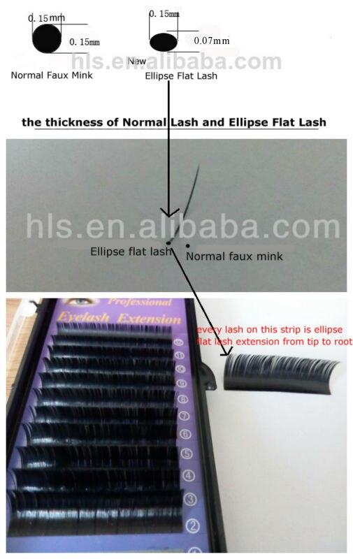 shiny ellipse lash