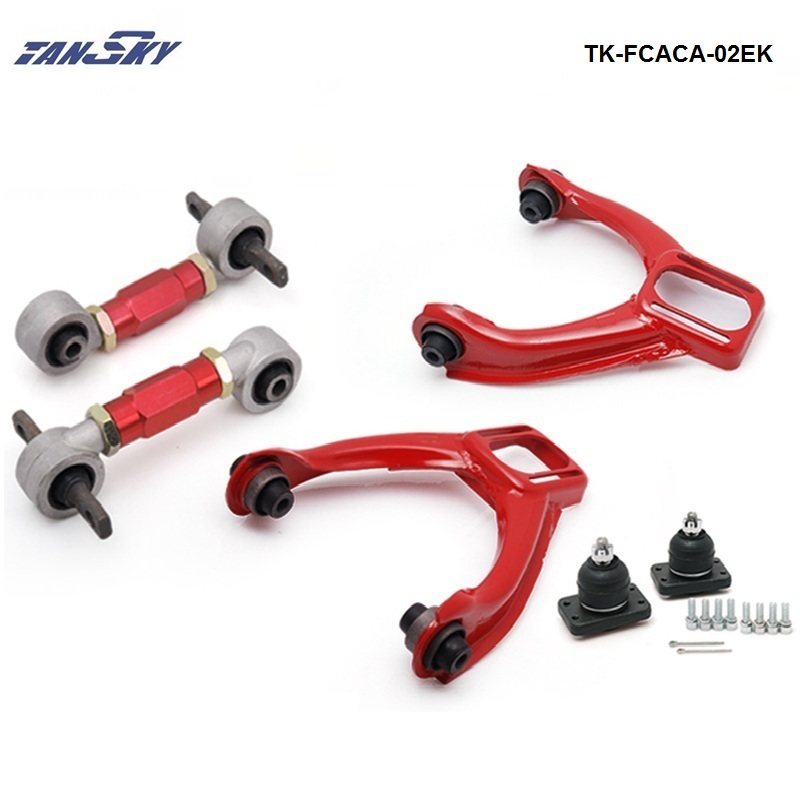 Honda Prelude Coupe 1997 2001 Front Lower Control: TANSKY Front Upper Camber Kit:+ Rear Lower Control Arms
