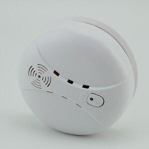 Image 3 - Freies Verschiffen! 433mhz Nutzung feuer wireless Home Einbrecher Sicherheit Alarm FÜR GSM alarm system NEUE Weiß 8 stücke drahtlose rauchmelder