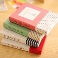 Новый Твердый Переплет Мини-Ноутбук Эпизод Дневник Двойной Блокнот Sticky Notes С Шариковая Ручка