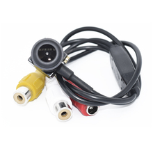 Mini Camera HD 600TVL 720*480 Sensor PC7030 Security Mini CCTV Camera Audio