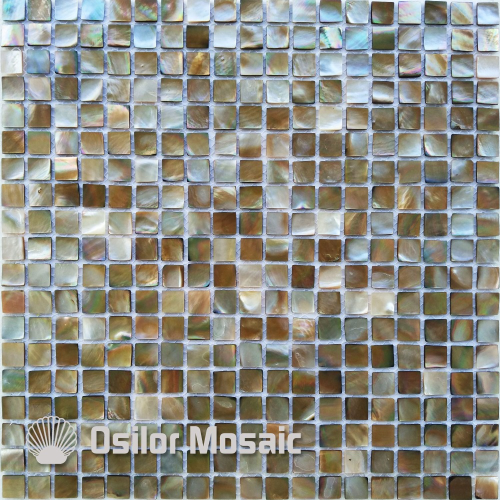 ФОТО Free shipping 100% sea shell penguin shell mother of pearl mosaic tile for interior house decoration wall tile