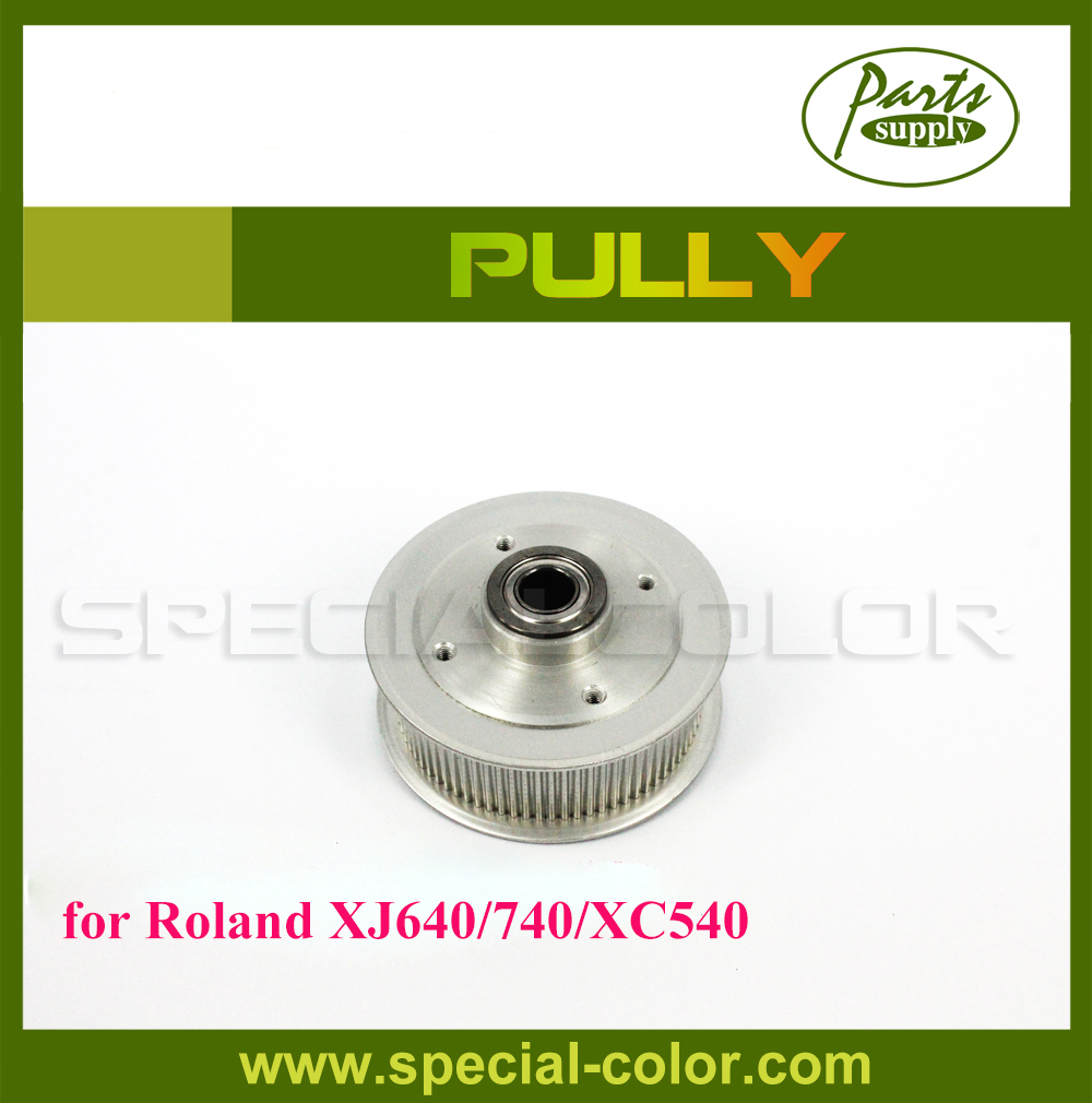 100% OEM Roland XJ640/740 Printer Pully for XC540 Pulley roland vp 540 rs 640 vp 300 sheet rotary disk slit 360lpi 1000002162 printer parts