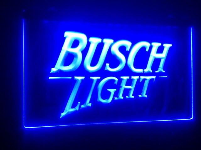 Aliexpress.com : Buy B99 Busch Light Logo Beer Bar Pub