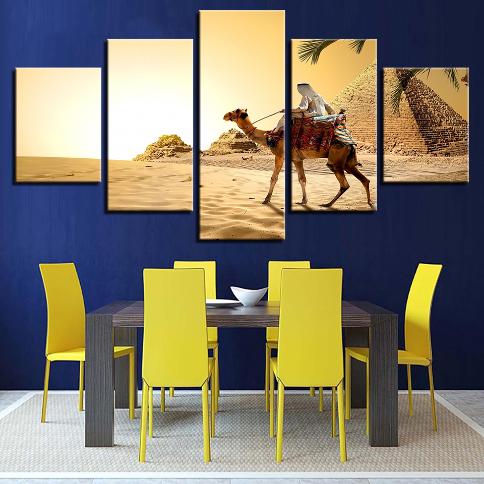 Modern Frames For Painting Modular Cheap Pictures 5 Panel Ancient ...