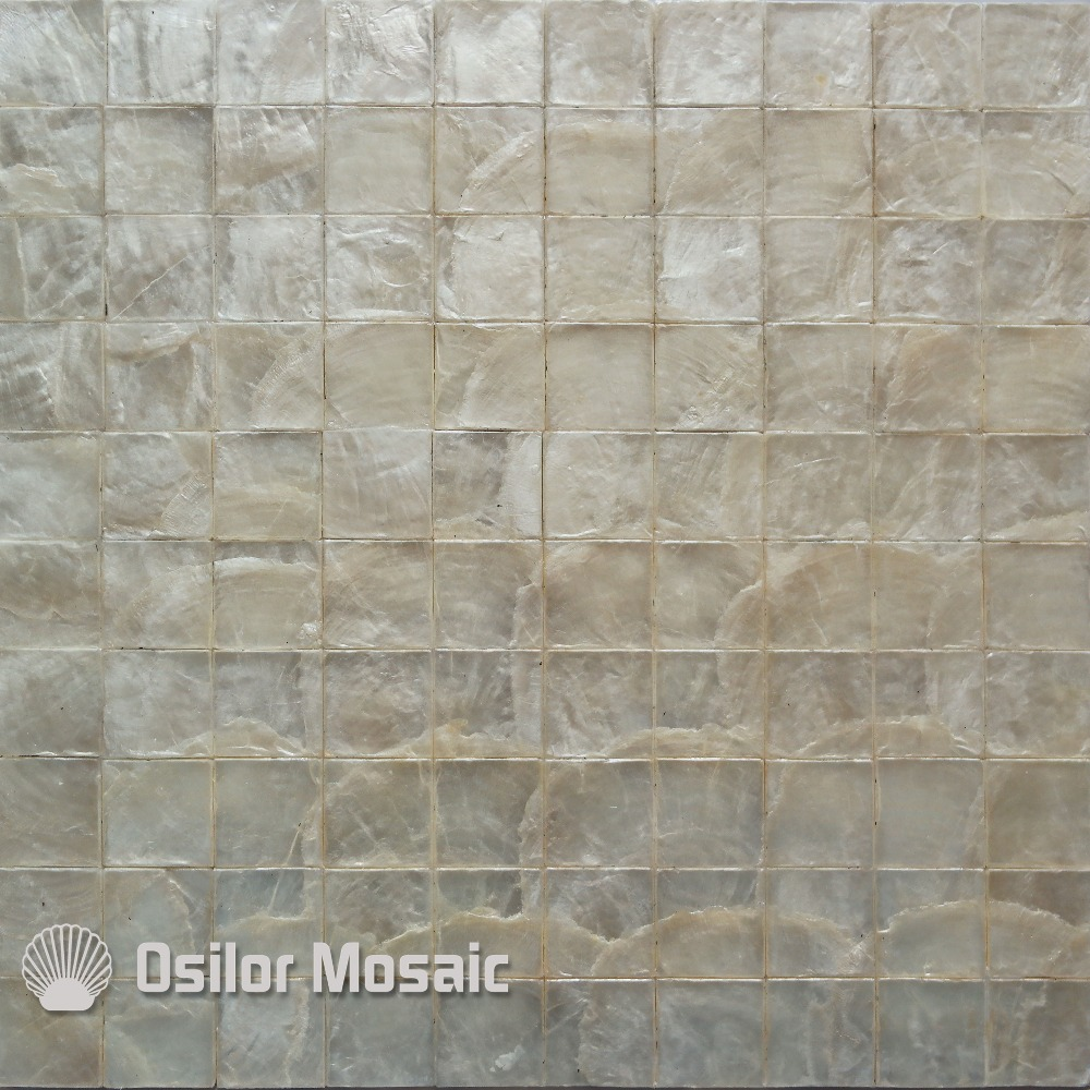 White color natural 100% capiz shell mother of pearl mosaic tile for living room or ceiling free shipping wave pattern 100% natural penguin shell and chinese freshwater shell mother of pearl tile wall tile