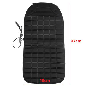 Image 2 - 12V Heated Car Seat Cushion Cover Winter Household Cushion Heated Seat Cushion Seat Heater