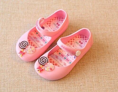 56baa8f06 13-15.5cm лето детей пляж сандалии для детские летние босоножки девочек  банты Микки Минни