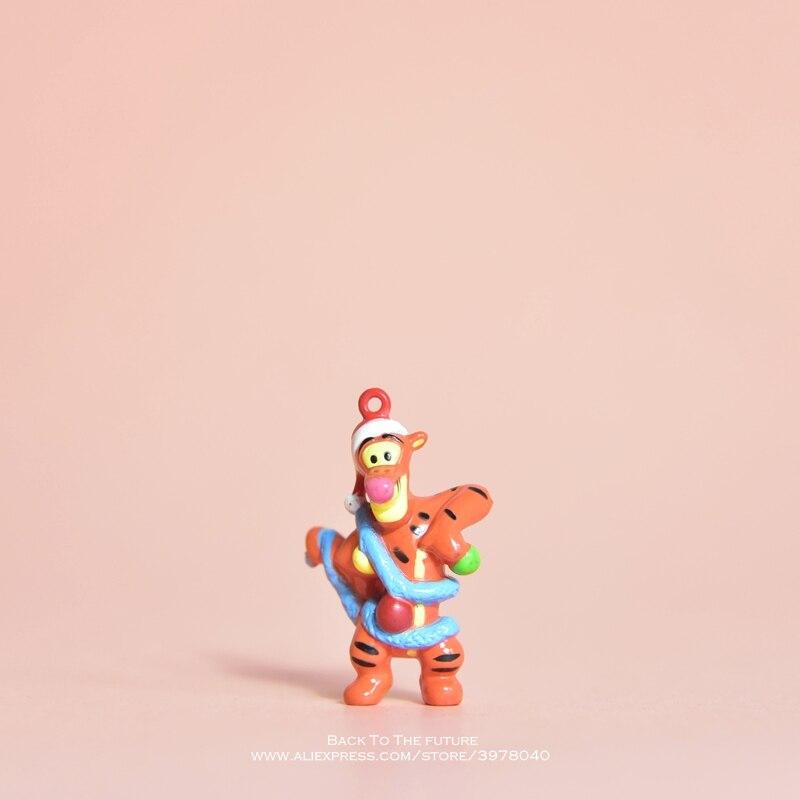 Disney Винни-Пух Тигра 4 см фигурку положения аниме украшения коллекции фигурка игрушка модель для детей мальчик подарок