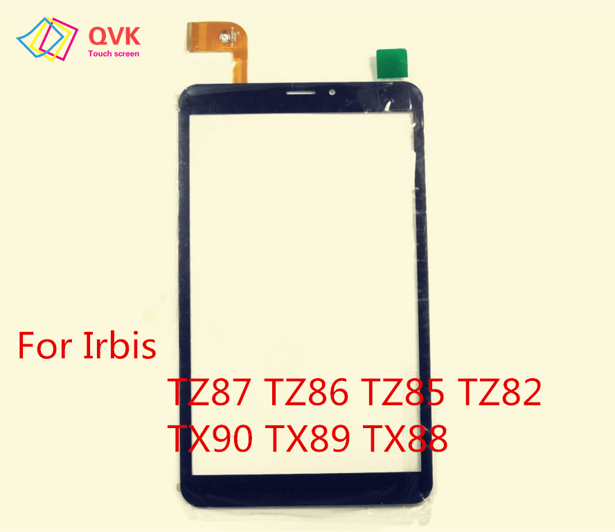 Black Touch Screen For 8 Inch Irbis TZ87 TZ86 TZ85 TZ82 TX90 TX89 TX88 TX81 TX80 TX79 Capacitive Touch Screen Panel