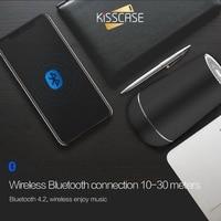 KISSCASE High quality Speaker 3D Bass Premium Stereo Surround HiFi Sound Wireless Speaker Portable wireless Bluetooth subwoofer
