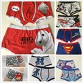2017 New Sexy New  High quality 100% cotton cartoon men's Boxer / men underwear lovely underwear