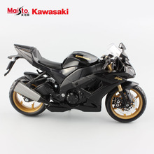 Maisto 2016 hot 1:12 children's Kawasaki NINJAZX-10R diecast motorbike race cars vespa collectible motorcycle models gifts toys
