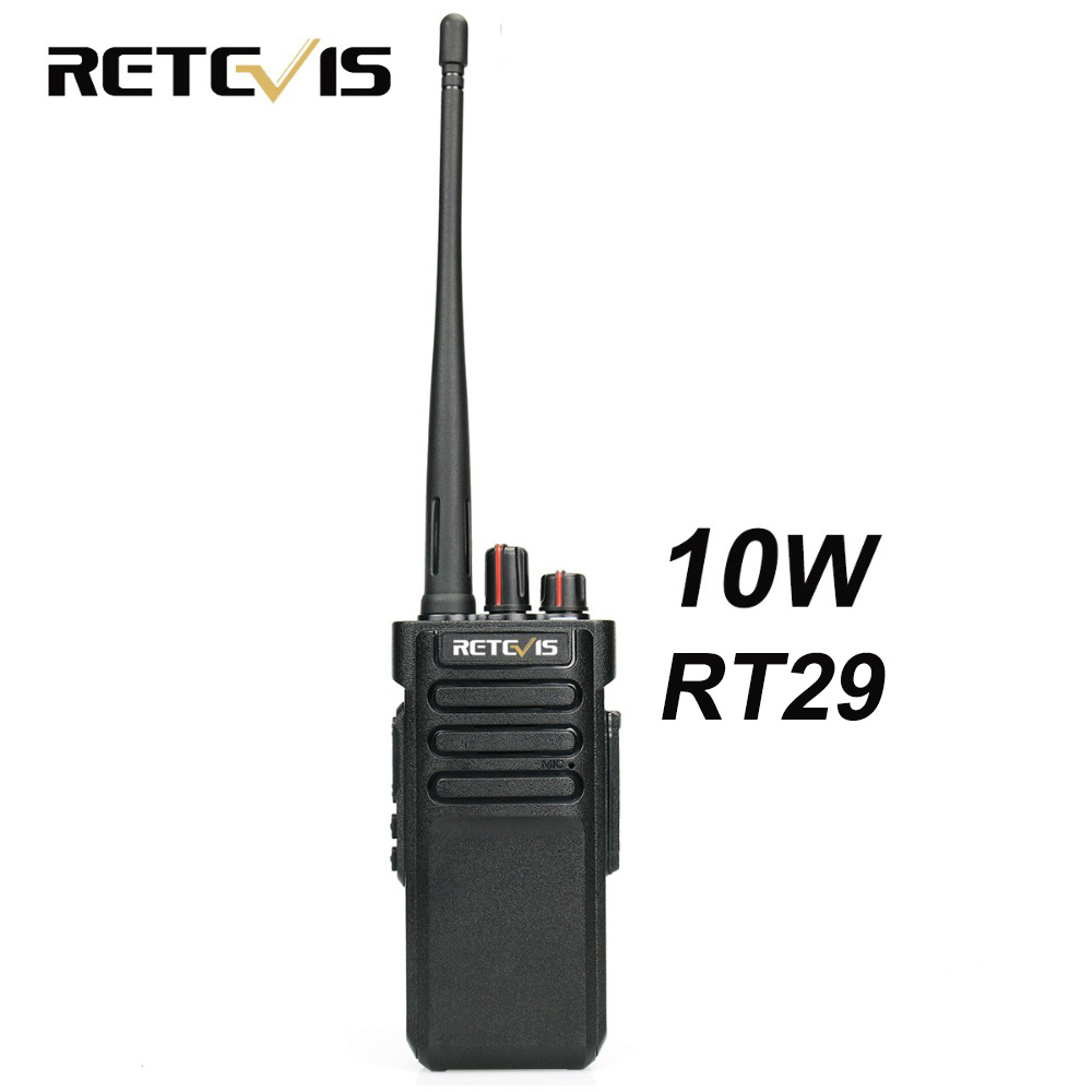10 W рация Retevis RT29 УВЧ или УКВ VOX скремблер сканирования IP67 двухстороннее радиостанции КВ трансивер Водонепроницаемый дополнительно