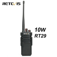 10W Walkie Talkie Retevis RT29 UHF or VHF VOX Scrambler Scan IP67 Two Way Radio HF Transceiver Waterproof Optional
