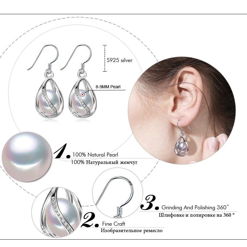 FENASY Perle dråbe øreringe Perle smykker retro choker til kvinder - Smykker - Foto 5