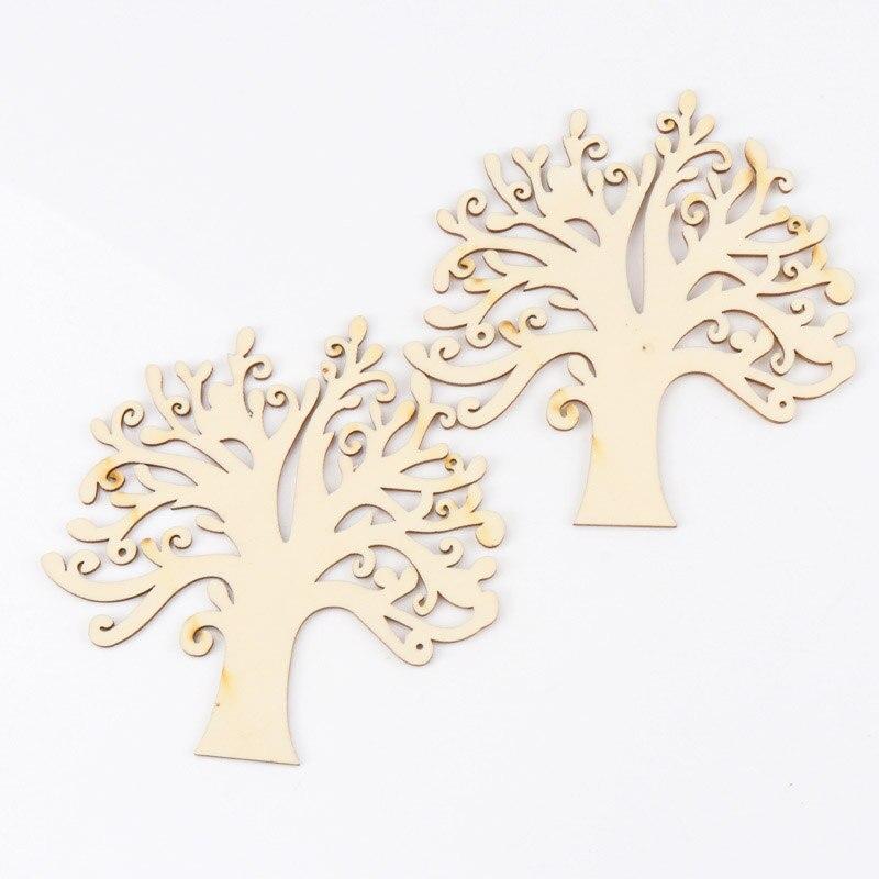 1pcs Big Size Life Tree Wooden Scrapbooking Craft Natural