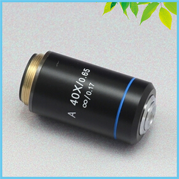 40X Achromatic Infinity Objective Lens for Infinity Biological Microscope Can be Used on Zeiss Olympus Infinity