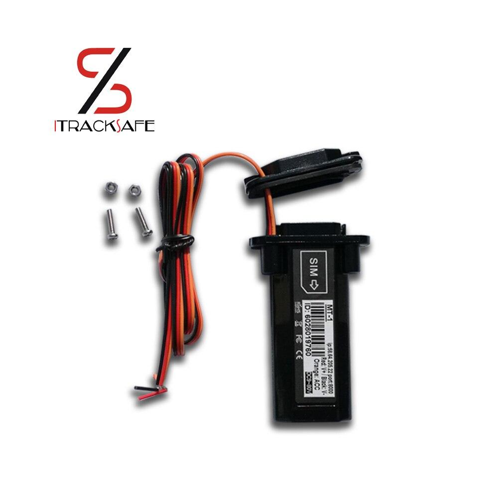 Cina mini gsm gprs moto moto del veicolo car gps tracker dispositivo di tracciamento locator antifurto sistema di allarme gt02a gt06 mt1