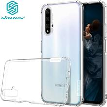Case for Huawei Honor 20 Pro NILLKIN Nature TPU clear Transparent soft back cover Protective Case for Honor 20 /20 Pro стоимость