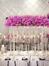 Free shipping Crystal tall flower stand flower vase for wedding table  centerpiece Banquet supply wedding decoration 8pcs LotPopular Tall Wedding Vases Buy Cheap Tall Wedding Vases lots from  . Tall Flower Vases For Weddings. Home Design Ideas