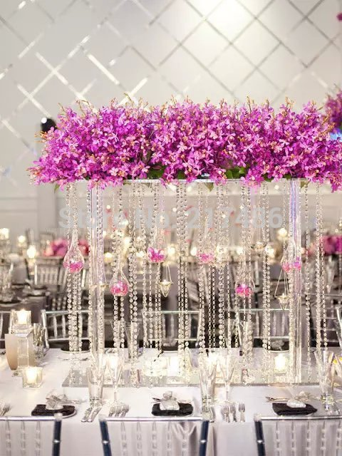 Aliexpress Buy Free Shipping Crystal Tall Flower Standflower