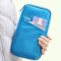 Multifunctional Travel Aircraft Patent Leather PU Passport Bags ID Travel Passport Holder Passport Cover Card Passport