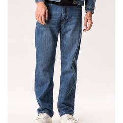 Модные прямые джинсы мужские повседневные брюки джинсовые брюки большие размеры 27-48 синие джинсы мужская одежда