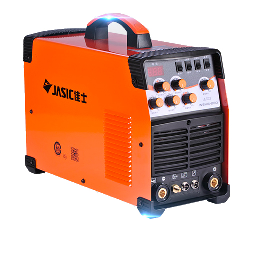 WSME-200 AC DC Pulse TIG Welder Welding Machine Aluminium MMA 220V TIG-200 TIG-200P With foot pedal image