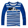 Mickey Boys T-Shirts Baby Girl Clothes Long Sleeve Children Tee Shirts all for children's clothing and accessories